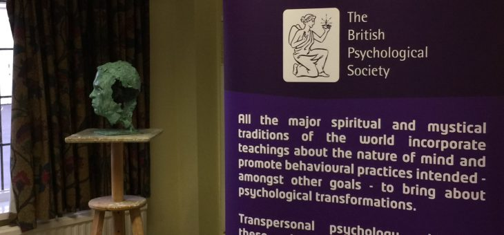 British Psychological Society Transpersonal Section Annual Conference. Sept. 2016