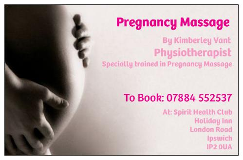 NEW – PREGNANCY MASSAGE @ BACON & ASSOCIATES