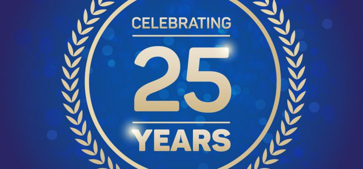 Bacon & Associates celebrating its 25th year anniversary this year !